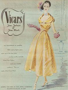 d298d564c6db6 29 Best 1950s Fashion Ads images | Fashion vintage, Vintage fashion ...