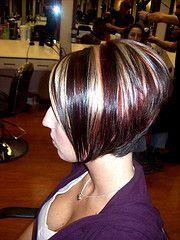 Strange Bobs My Hair And A Line On Pinterest Short Hairstyles For Black Women Fulllsitofus