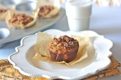 Paleo Banana Muffins with Chocolate Chip Streusel Topping from Against All Grain