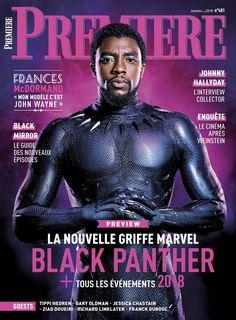 Chadwick Boseman as Black Panther - Premiere