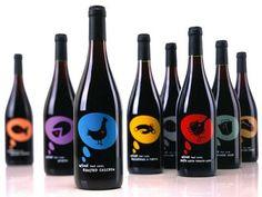 Packaging: 25 Creativas botellas de Vino con diseño exclusivo | by @puromarketing