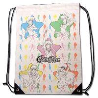 New White Sailor Moon Drawstring Bag featuring Sailor Mercury, Sailor Jupiter, Sailor Venus, Sailor Mars and Sailor Moon!