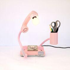 Fab.com | Princess Phone Organizer Lamp