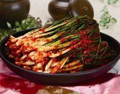 Pa Kimchi - Green Onion Kimchi - 파김치
