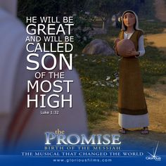 """And behold, you will conceive in your womb and bear a son, and you shall call his name Jesus."""" Luke 1:31 (ESV)  """"The Promise"""" - An animated musical about the Nativity"""