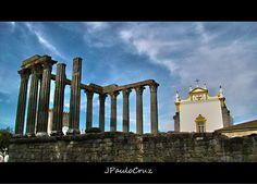 Templo de Diana - Évora. Portugal   By JPauloCruz-Fotografia, via Flickr