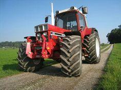Big Tractors, Case Tractors, International Tractors, International Harvester, Classic Tractor, Engin, Case Ih, Heavy Equipment, Childhood