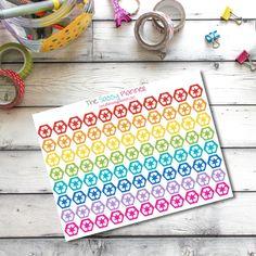 NEW! G12 Recycling Mini Icon Hexagon Stickers