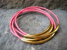 Colour code - pink + gold design