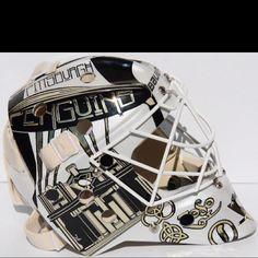 Brent Johnson's goalie helmet
