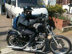 Sportster 1200, Harley Davidson, Garage, Motorcycle, Bike, Vehicles, Motorbikes, Carport Garage, Bicycle