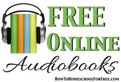 Listening to audio books can improve reading skills and struggling readers might be able to read along with an unabridged audio version of a book to help fluency and build confidence in reading a story Reading Resources, Teaching Reading, Homeschooling Resources, Audio Books For Kids, Improve Reading Skills, Free Books Online, Online Stories, Ebooks Online, Struggling Readers