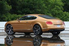 Bentley Continental GT car on rental at Miami Beach. #Cars #CarRentals #SouthBeach #BentleyGTCarRental #LuxuryCar