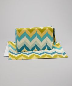 Take a look at this Glamis Spa Diaper Clutch by Foxy Vida on #zulily today!
