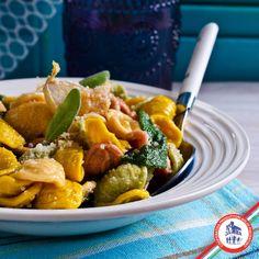 Orecchiette tricolori con salvia e Aglio Bianco Piacentino tritato #copap #agliobiancopiacentino #healthyfood #healthy #food #receips