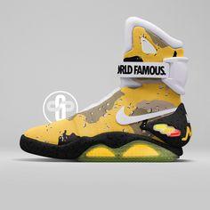 Supreme x Nike Sock Dart Yellow Nike Mag, Adidas Tubular Doom, Nike Basketball, Nike Lebron, Nike Sportswear, Sneakers Fashion, Sneakers Nike, Nike Boots, Nike Shoes Air Force