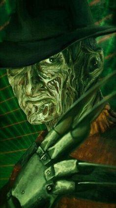 Horror Posters, Horror Icons, Horror Films, Horror Art, Horror Stories, New Nightmare, Nightmare On Elm Street, Horror Photos, Classic Horror Movies