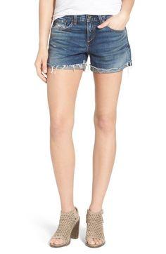 rag & bone 'Boyfriend' Cutoff Denim Shorts (Woodstock) available at #Nordstrom