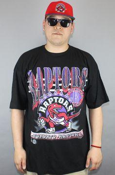 Vintage Deadstock  Toronto Raptors Logo Tee (Black)    $45.00