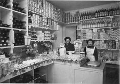 Store in Paris,  1940