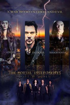 mortal instruments-please let this movie be better than the book!