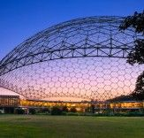 A constant source of architectural inspiration : Bucky Fuller. #Architecture #Structure #Lightweight