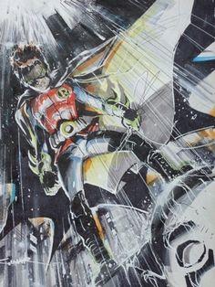#Robin and #Batman