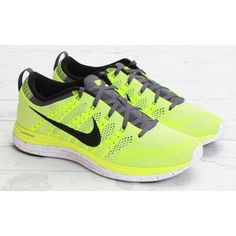 promo code eb5cf 33904 Nike Shoes   Nike Flyknit Lunar 1 - Volt   Color  Black Gray