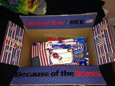 USA care package idea