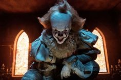 Pennywise from IT makes me scary but in good ways