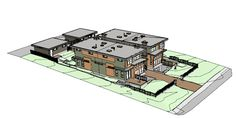 Town homes in 3D PDF