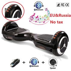 "Cheap scooter overboard, Buy Quality balance wheel scooter directly from China balancing scooter electric Suppliers: 6.5"" Electric Self balancing scooter Electric skate Hoverboard Skateboard boosted board smart balance wheel scooter overboard"