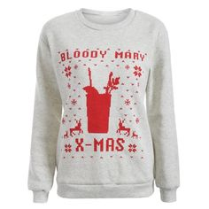 13.86$  Watch here - http://di6zi.justgood.pw/go.php?t=199326601 - Christmas Loose Printed Sweatshirt
