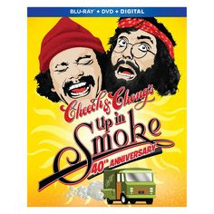 Shop Cheech and Chong: Up in Smoke Anniversary] [Blu-ray] at Best Buy. Find low everyday prices and buy online for delivery or in-store pick-up. Hd Movies, Movies To Watch, Movies Online, Movies And Tv Shows, Movie Tv, Funny Movies, Cheech E Chong, Lou Adler, Stacy Keach
