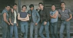 The Outsiders. 1983    Tom Cruise. Rob Lowe. C.Thomas Howell. Ralph Macchio. Matt Dillion. Emilio Estevez. Patric Swayze