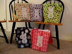 Fabric Easter Basket actual tutorial !!