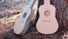 Öğrenciler İçin Ev Yapımı Kartondan Gitar Nasıl Yapılır