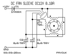 fansleeve Electronics Basics, Electronics Projects, Electronic Circuit Projects, Electronic Schematics, Circuit Diagram, Built In Speakers, Sprinter Van, How To Plan, Motors