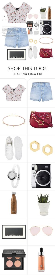 """""""8/10🌹"""" by nour20-17 ❤ liked on Polyvore featuring GRLFRND, Shashi, Marc Jacobs, ASOS, Matthew Calvin, Bulgari, Fuji, West Elm, Chive and John Lewis"""