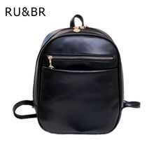 PU leather backpacks Women Casual mini backpack childen School Bags for  girls Female small shoulder bag shopping purse Mochilas ffc19fab49