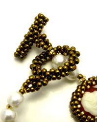 Make Your Own Beaded Clasp - MyAmari.  #seed #bed #tutorial