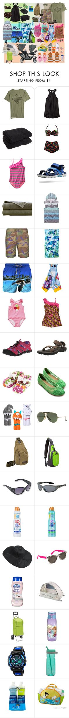 """""""beach"""" by sterlingkitten on Polyvore featuring Tavik, Hollister Co., Superior, Old Navy, Univibe, Maharishi, Disney, MC2, My Little Pony and Kamik"""