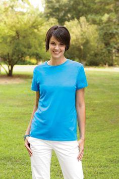 Ladies Nano-T T-Shirt http://www.raisingtrend.com/1529/hanes-sl04-ladies-nano-t-t-shirt.html