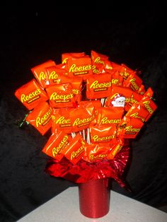 Nailed It!!! Reeses Peanut Butter Cup Bouquet.
