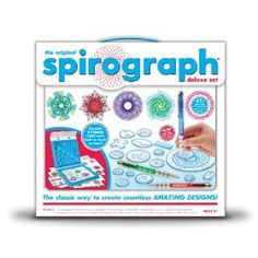 They're re-releasing the original Deluxe Spirograph! I just preordered mine.