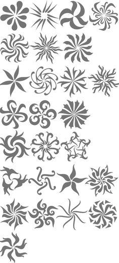 MyFonts: Selection of botanical typefaces