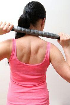 "Best Massage Roller 18"" Stick Muscle Cramp & Pain Relief Sport Trigger Point…"