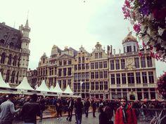 Fiesta de la cerveza en #lagrandplace #Bruselas #belgianbeerweekend #belgica