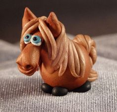 Hey, I found this really awesome Etsy listing at https://www.etsy.com/listing/210145504/marblemini-horse-light-chestnut
