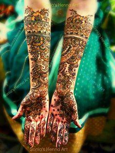 Beautiful Heena Design.